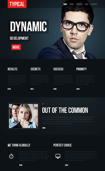 Typical Business WordPress Theme