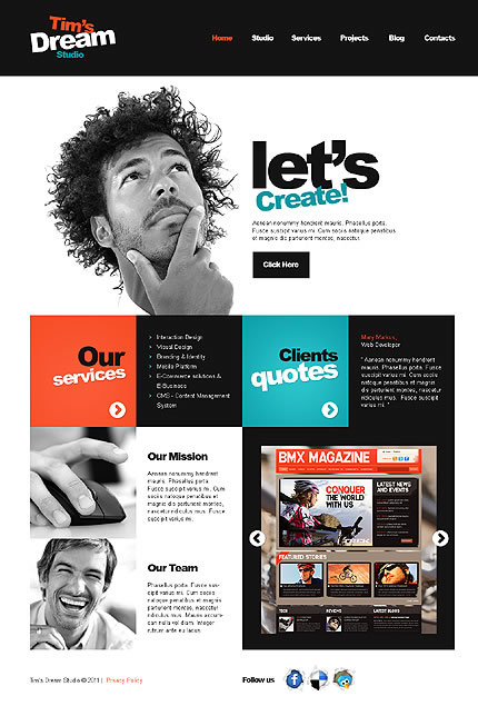 Tim Design WordPress Theme