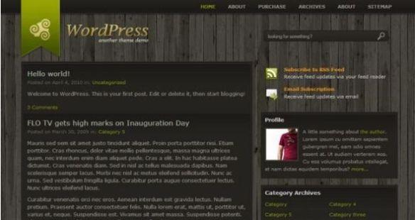 Retropolis Column WordPress Theme