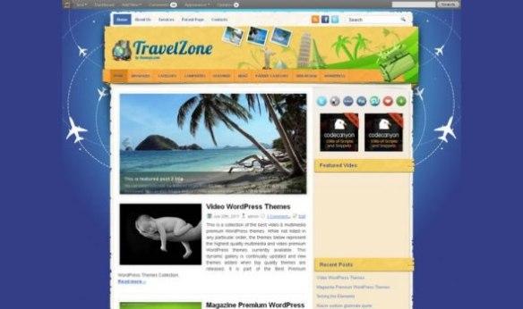 WP-Travel Zone