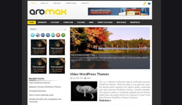 WP-Aromax WordPress Themes