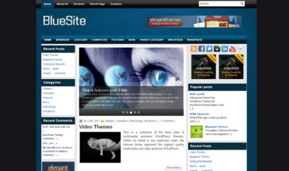 WP-Blue Site