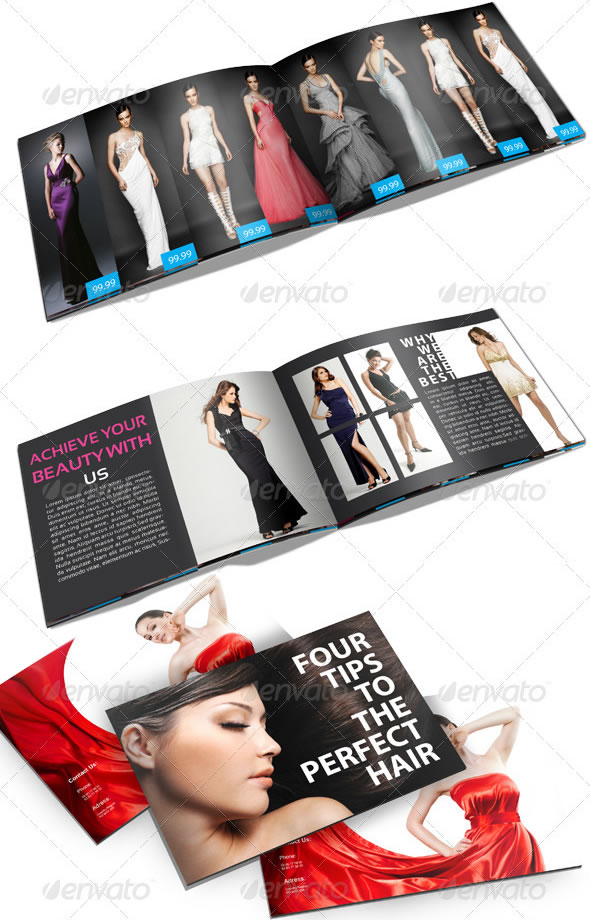 Professional Catalogue & Booklet Design Templates Entheos