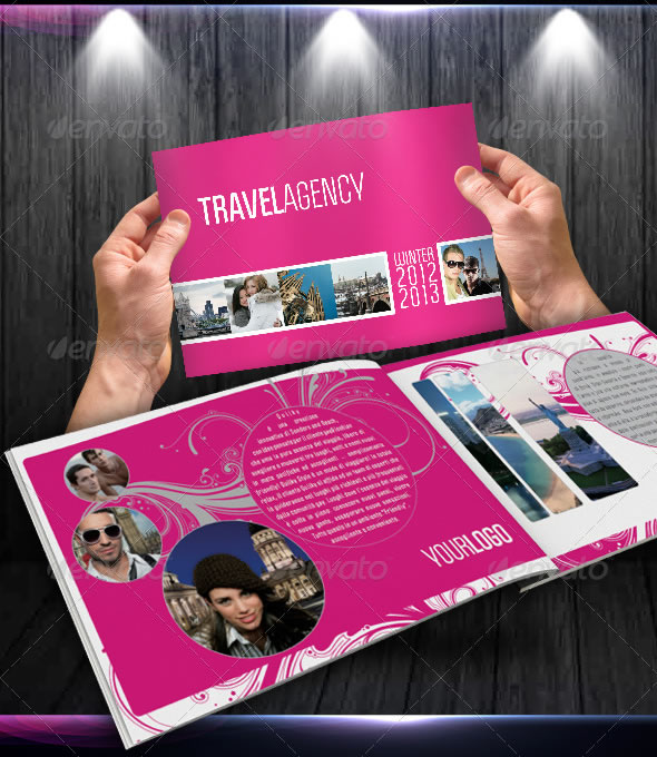 Fancy Travel Agency Catalogue / Brochure