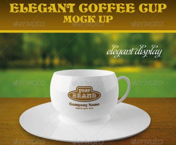 Elegant Coffee Cup Mock-up