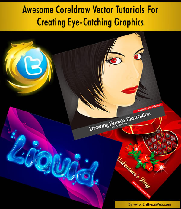 Girl With Chocolate Wallpaper Awesome Coreldraw Vector Tutorials For Creating Eye