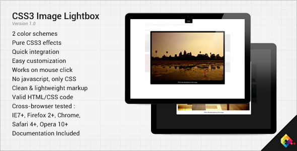 CSS3 Image Lightbox