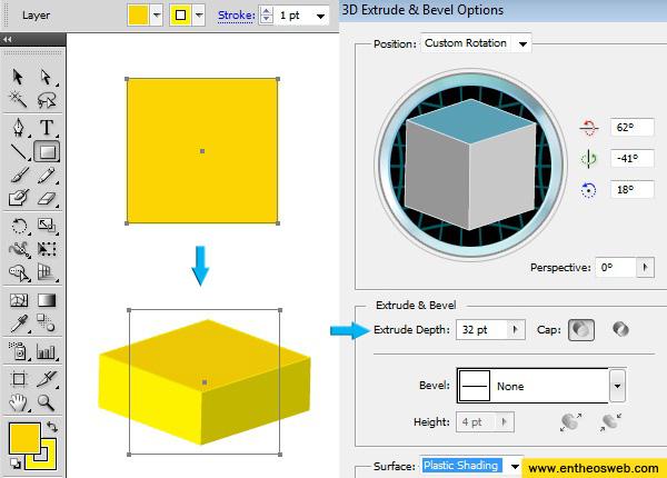 3D House Vector Screenshot