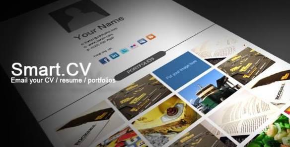 Smart.CV - Template for CV, Resume, Portfolio