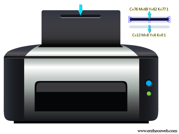 Printer Vector