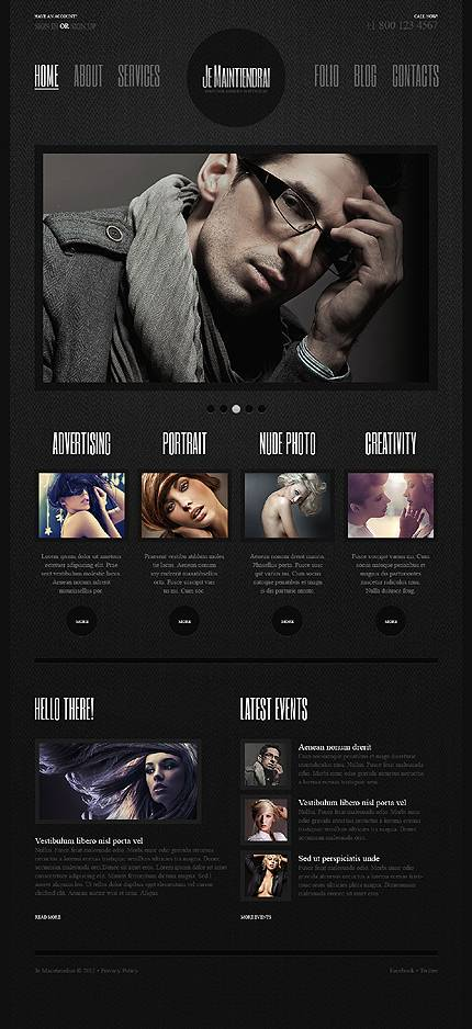 Je Maintiendrai WordPress Theme