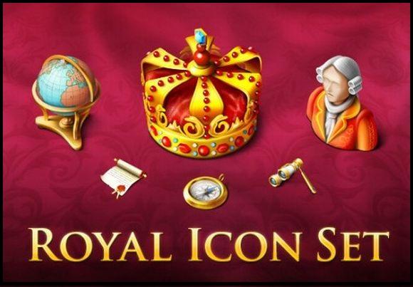 Smashing Royal Icon Set