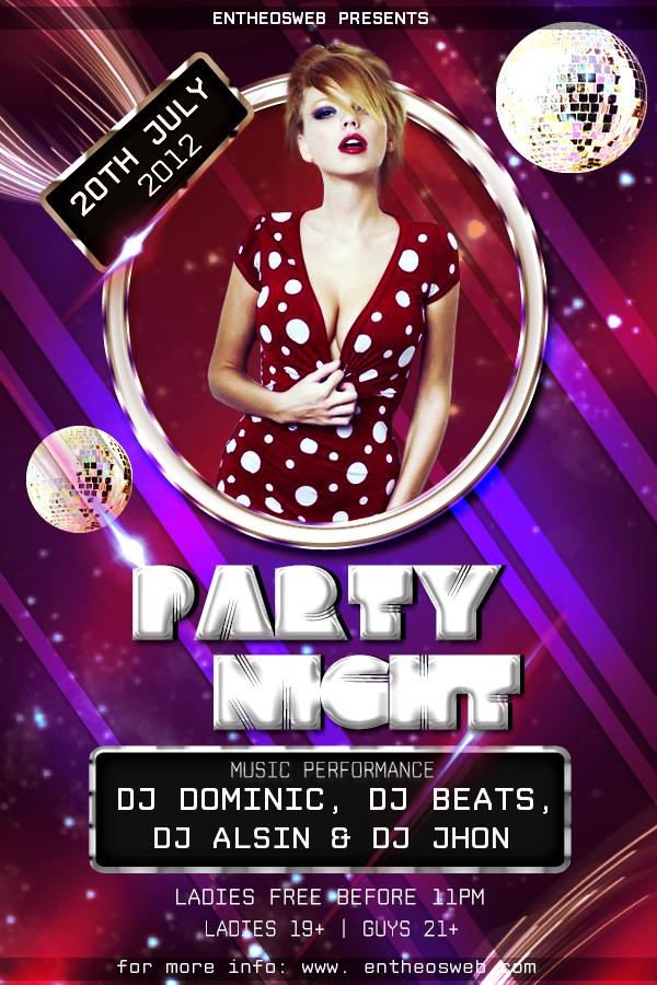 Dynamic Party Flyer