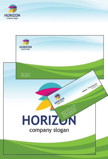 Horizon Guide PowerPoint Template