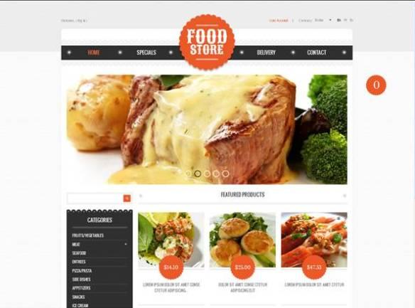 Food Online PrestaShop Theme