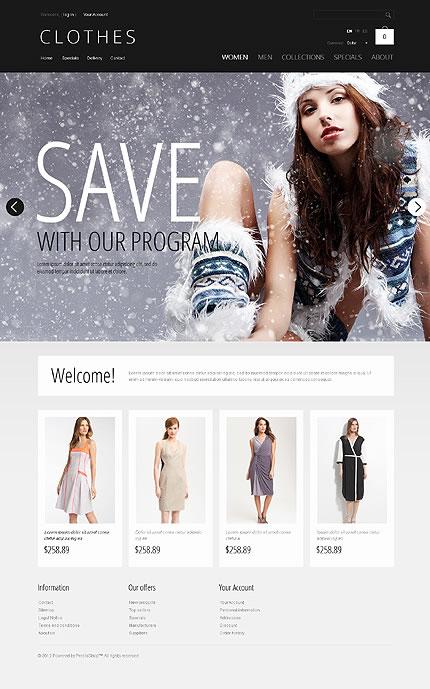 Clothes Online PrestaShop Theme