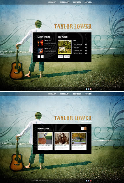Taylor Lower Website Template