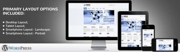 Vortex Science WordPress Theme