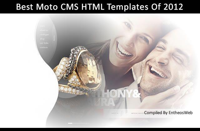 Best Moto CMS HTML Templates Of 2012