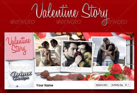 Valentine Story FB Timeline