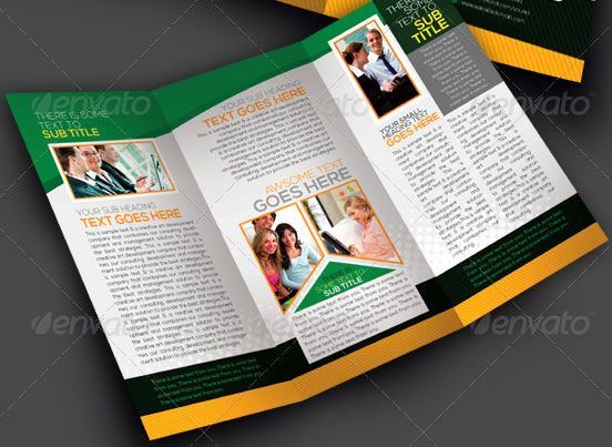 NeoMan Tri-fold Corporate Business Brochure