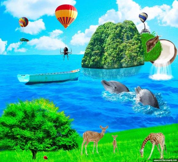 Create a Fantasy Photo Manipulation in Photoshop