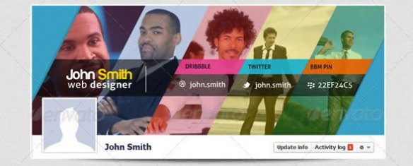 Creative Facebook Timeline Cover