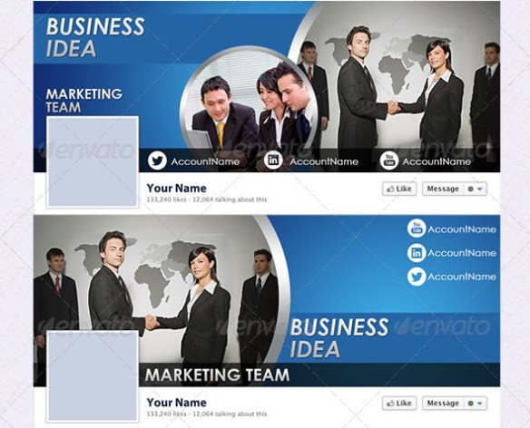 Business FB Timeline Package