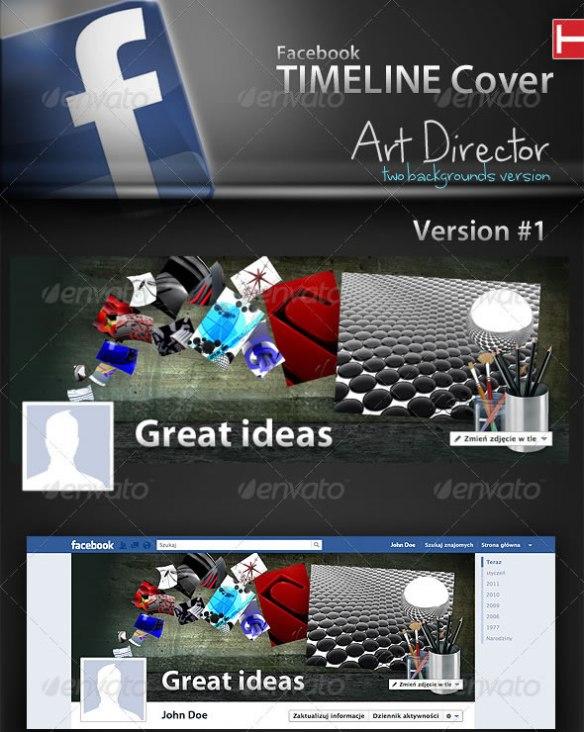 Facebook Timeline Cover | Art Director