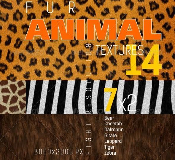 Fur Animal Texture Backgrounds
