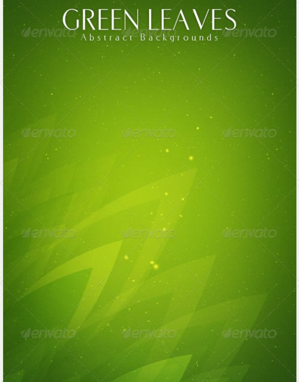 Green Leaves Abstract Backgrounds | v2