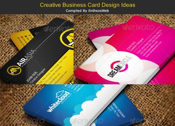 Creative Business Card Design Ideas