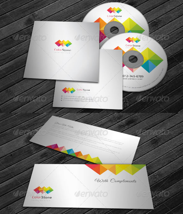 Corporate Identity Package - Color Square