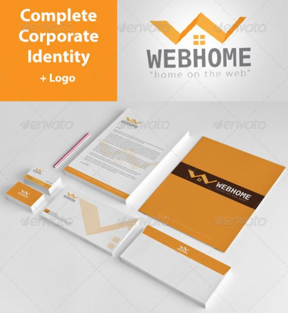 Web Hospital Corporate Identity Package