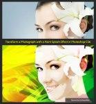 Transform a Photograph with a Paint Splash Effect in Photoshop CS6