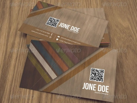 Creative Abstract Business Card - 04