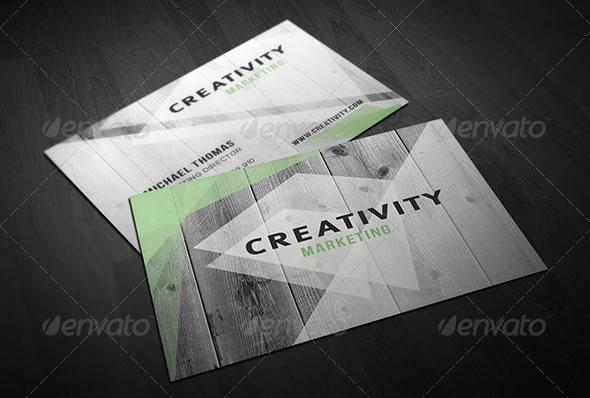 Creative Wooden - Business Card
