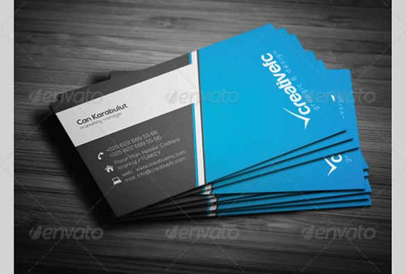 corporate business cards 344