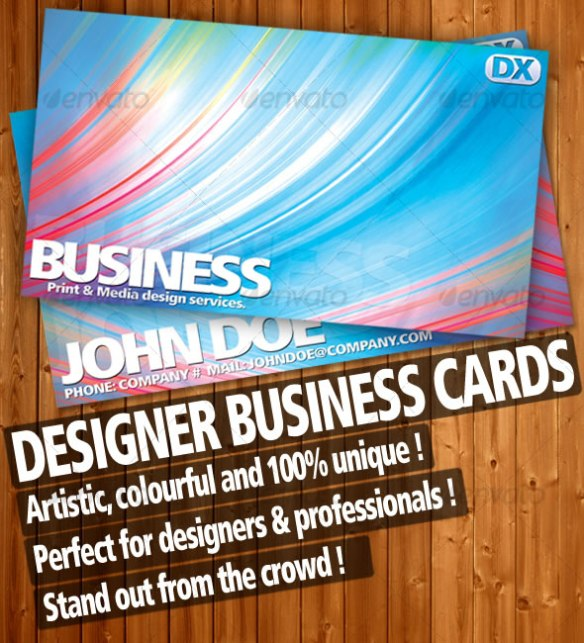 Premium Designer Business Cards