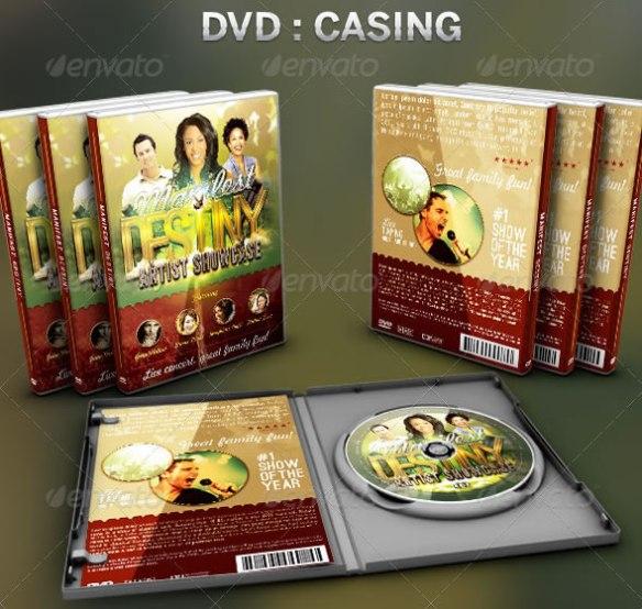Manifest Destiny: CD/DVD Template