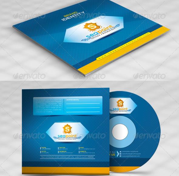 Sea Point CD Sleeve/Label & Sticker