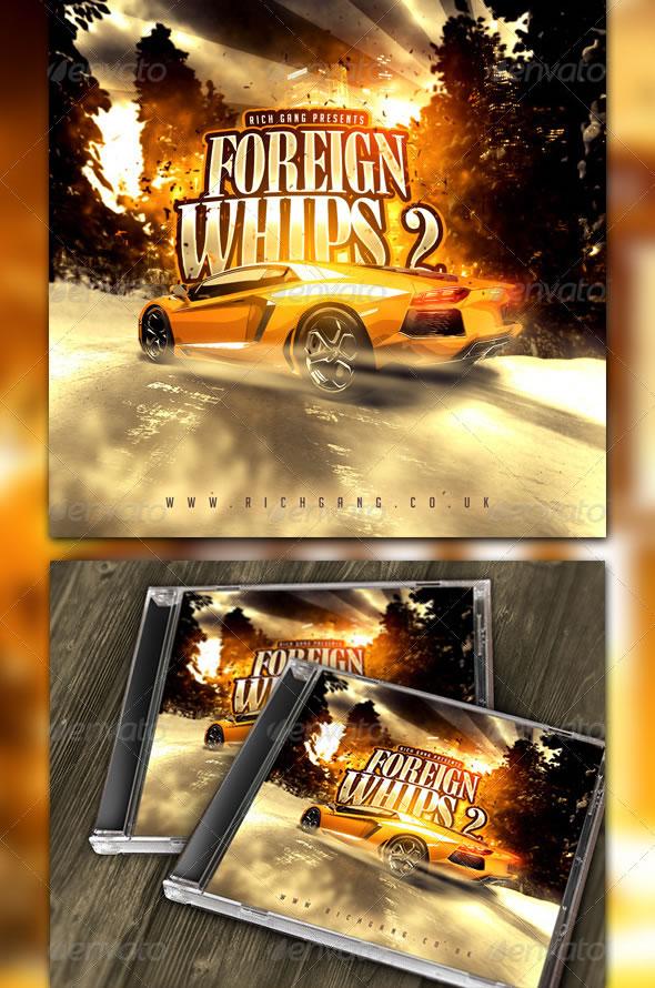 Rich Gang Hip Hop / Rap Mixtape CD Cover