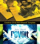 Creative CD & DVD Artwork Template