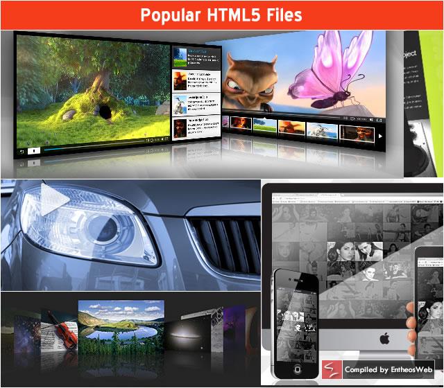 Popular HTML5 Files