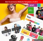 Best Ecommerce Website Templates of 2013