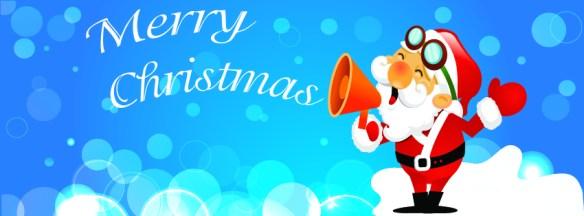 Santa Claus christmas facebook timeline cover