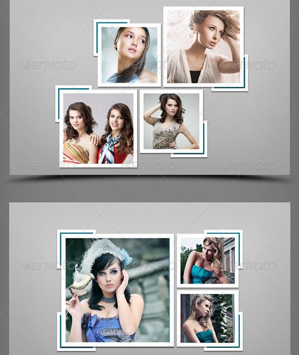 Photo Frame Templates V-2
