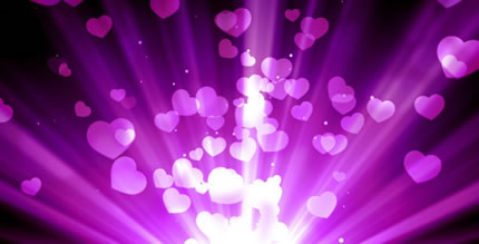 Purple Love Rays