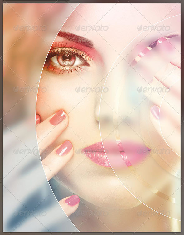 Circular Mask Photo Effect Template