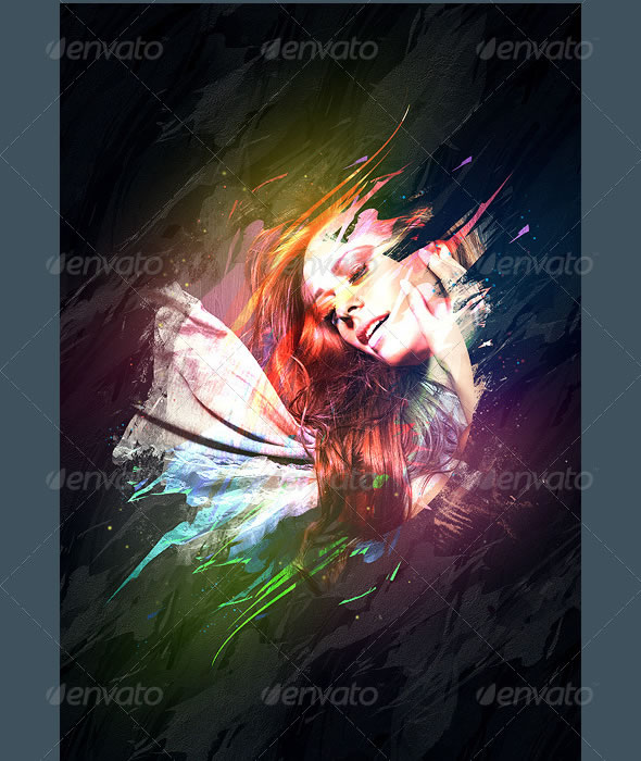 Colorful Art Photo Manipulation